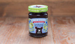 Organic Blueberry Just Fruit Spread- Code#: SP602