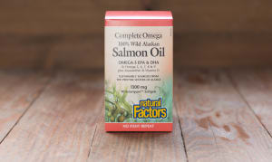 Complete Omega 100% Wild Alaskan Salmon Oil- Code#: VT1020