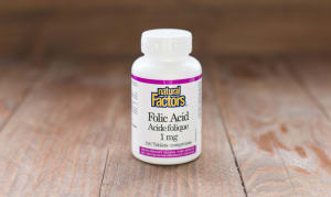 Folic Acid 1mg- Code#: VT1087