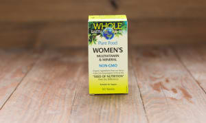 Whole Earth & Sea Women's Multivitamin & Mineral- Code#: VT1118