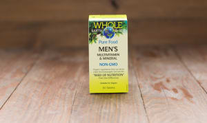Whole Earth & Sea Men's Multivitamin & Mineral- Code#: VT1120