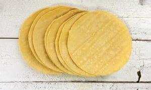 Organic 8  Fajita - Organic Corn Tortillas (Frozen)- Code#: BR3018