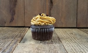 ChocolateCupcake with Salted Caramel Buttercream- Code#: DE3726