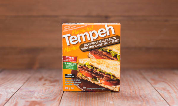 Tempeh - Smoky Maple Meatless Bacon - Vegan