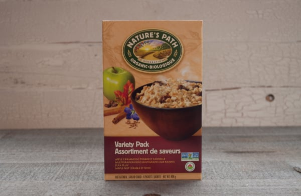 Organic Instant Oatmeal Variety Pack