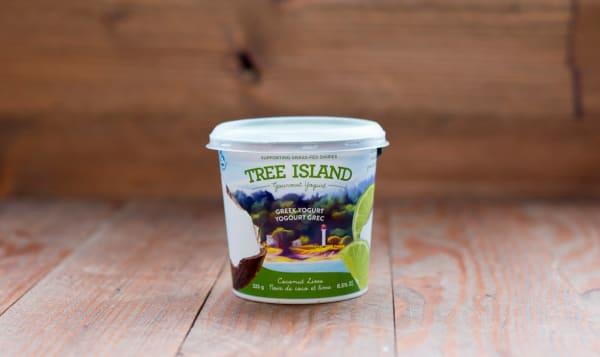 Coconut Lime Non-Homogenized, Grass Fed Greek Yogurt - 6.5% MF
