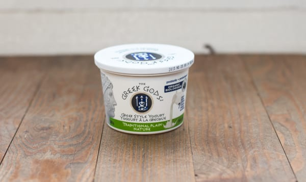 Organic Traditional Greek Style Plain Yogurt 10% MF
