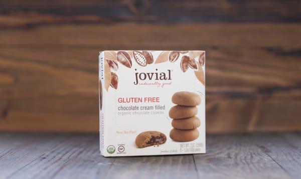 Organic Chocolate Cream Filled Cookies