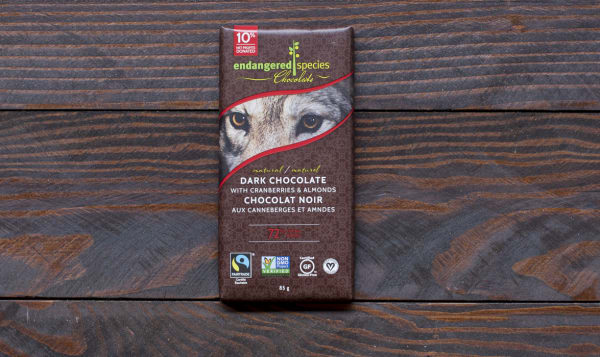 Wolf Bar - Dark Chocolate with Cranberries and Almonds
