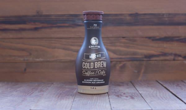 Mocha Cold Brew with Almond Milk