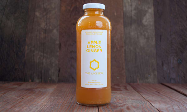 Organic Apple Lemon Ginger