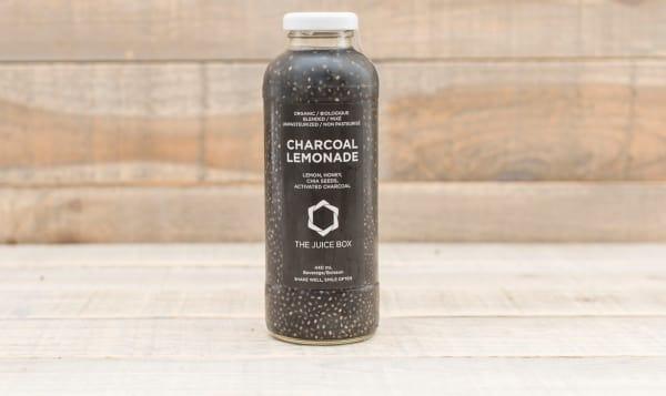 Charcoal Lemonade with Chia
