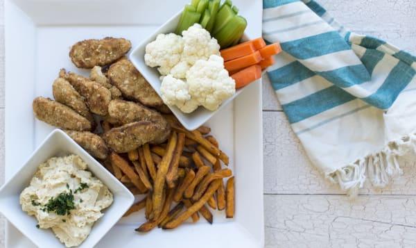 Vegan Finger Food Meal