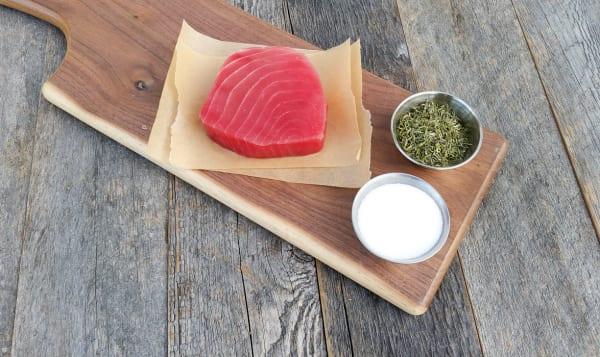 Frozen Tuna Ahi Yellowfin Steak (Frozen)