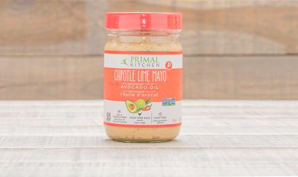 Primal Kitchen Chipotle Lime Mayo primal kitchen chipotle lime mayo made with avocado oil, 355ml