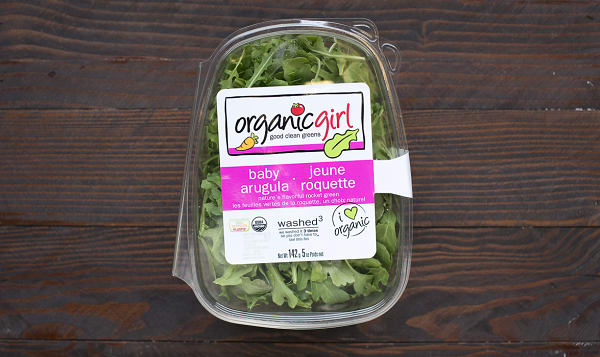 Organic Arugula, OG Baby Arugula - Brands may vary