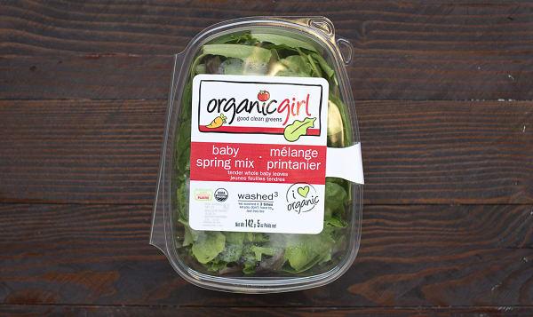 Organic Lettuce, OG Baby Spring Mix