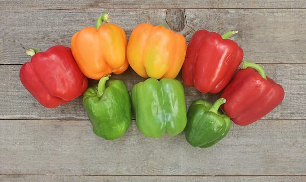 Organic Peppers, Imperfect