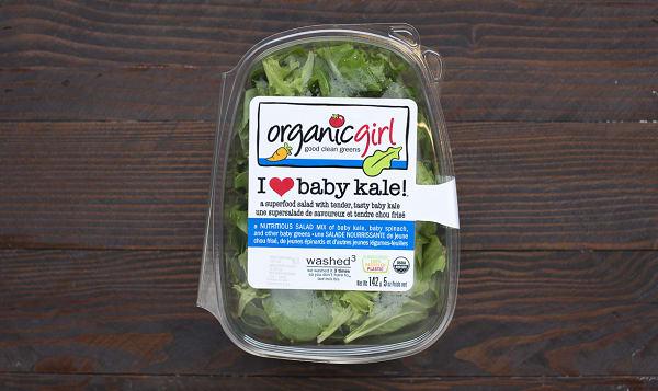 Organic Kale, Baby