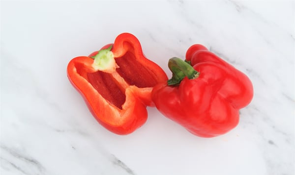 Organic Peppers, Red