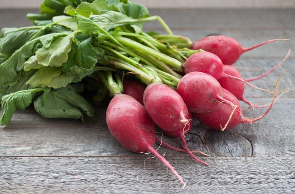 Organic Radishes - Red or French