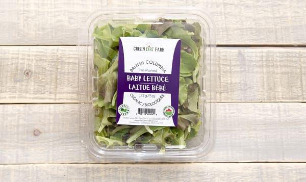 Local Organic Lettuce, Spring Mix 5oz