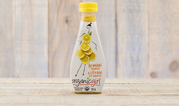 Organic salad dressing, Lemon Agave
