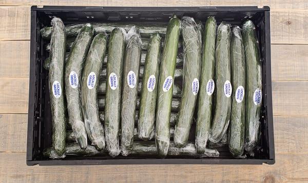 Local Organic Cucumbers, Case - BC Grown