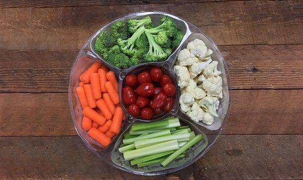 Vegetable Platter, Fresh Cut