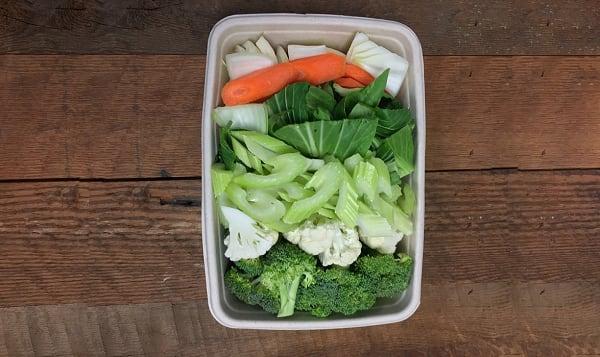 Organic Vegetable Chop Suey, Fresh Cut