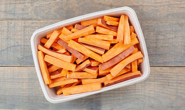 Organic Yams, Fries, Fresh Cut