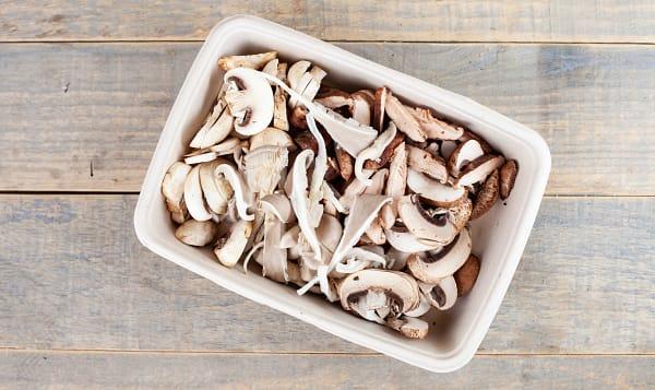 Local Organic Mushrooms, Fresh Blend