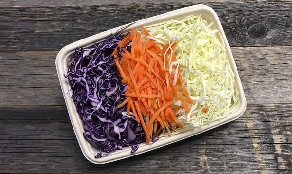 Organic Coleslaw Mix, Fresh Cut