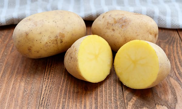 Local Organic Potatoes, Yellow (medium bag) - New Crop!