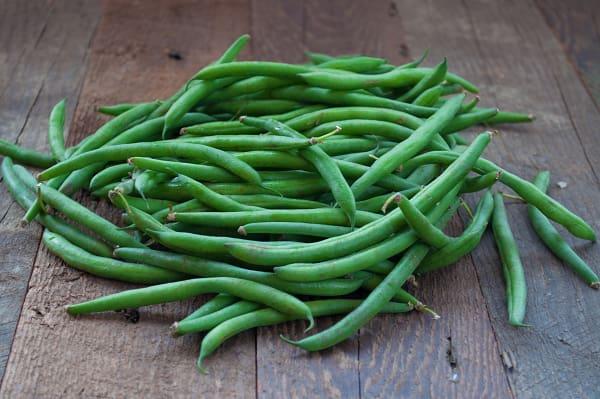 Organic Beans, Green