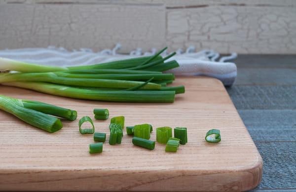 Organic Onions, Green