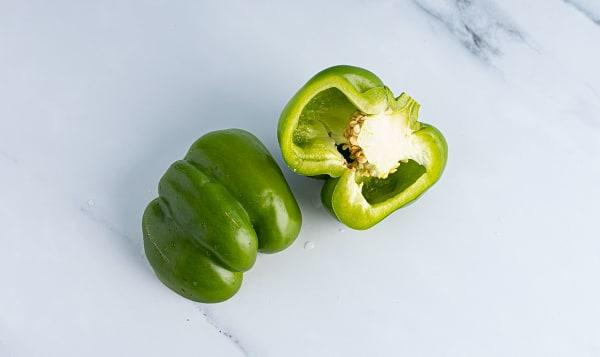 Organic Peppers, Green