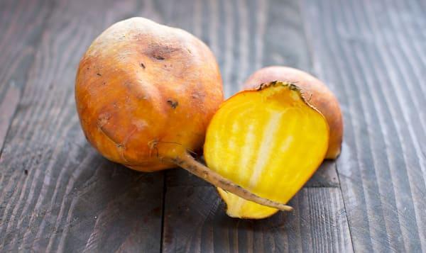 Organic Beets, Golden