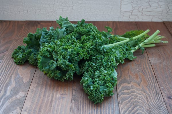 Local Organic Kale, Green