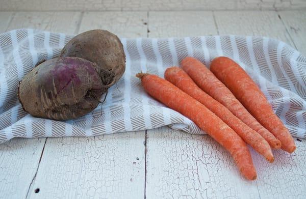 Organic Carrots & Beets