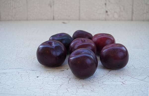 Organic Plums - may sub another variety