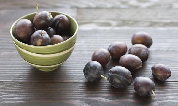 Local Organic Plums, Italian Prune