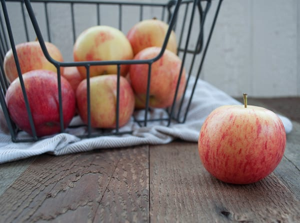 Local Organic Apples, Bagged Gala