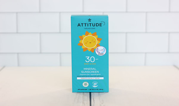 Mineral Sunscreen SPF 30 Baby & Kids - Fragrance Free