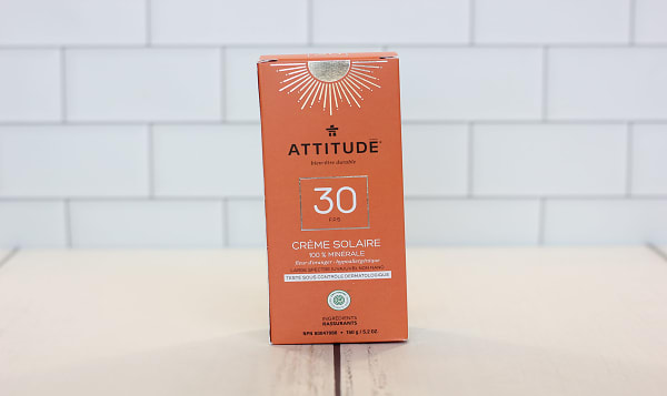 Mineral Sunscreen SPF 30 - Orange Blossom