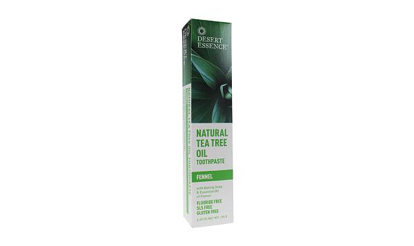 Tea Tree Oil Toothpaste - Fennel