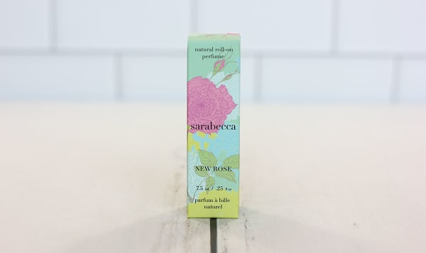 Organic Roll-On Perfume - New Rose