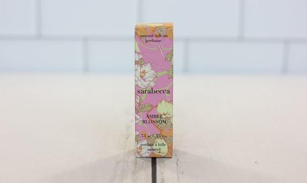 Organic Roll-On Perfume - Amber Blossom