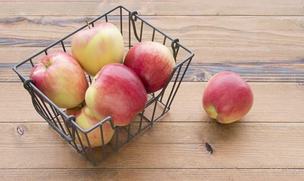 Local Organic Apples, Bagged Ambrosia