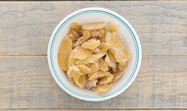 Dried Candied Ginger Chunks